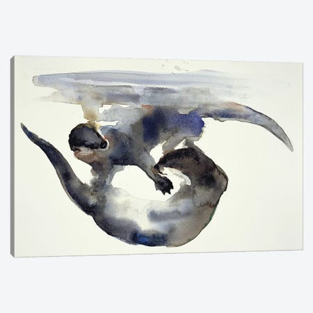 Courtship Canvas Print #MAD5} by Mark Adlington Canvas Art
