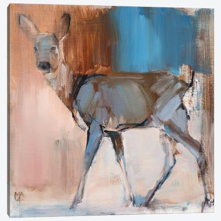 Doe A Deer, 2014 Canvas Print #MAD69} by Mark Adlington Canvas Print