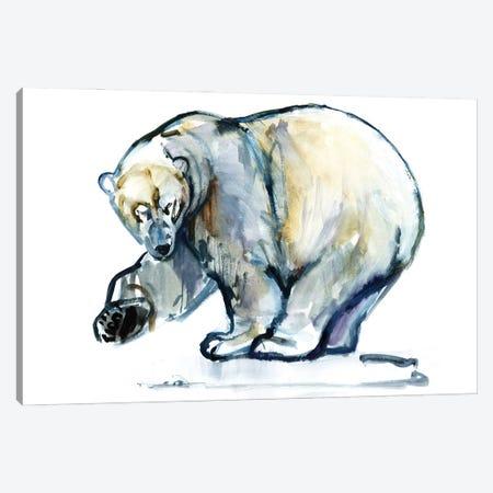 Isbjørn, 2013 Canvas Print #MAD78} by Mark Adlington Canvas Wall Art