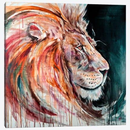 Heavy Lies The Head That Wears The Crown - Rose Canvas Print #MAE111} by Marc Allante Art Print
