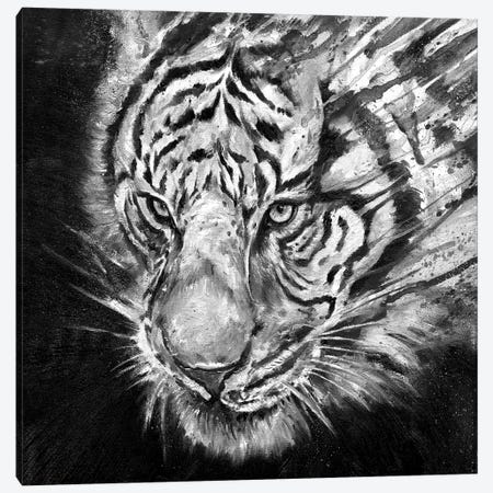 Nightstalker in Black & White Canvas Print #MAE116} by Marc Allante Canvas Artwork