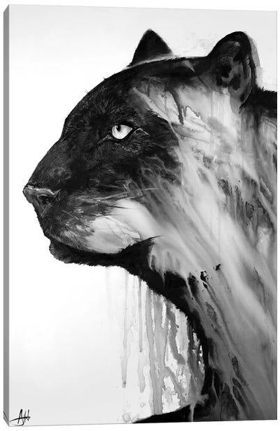 Orpheus in Black & White Canvas Art Print