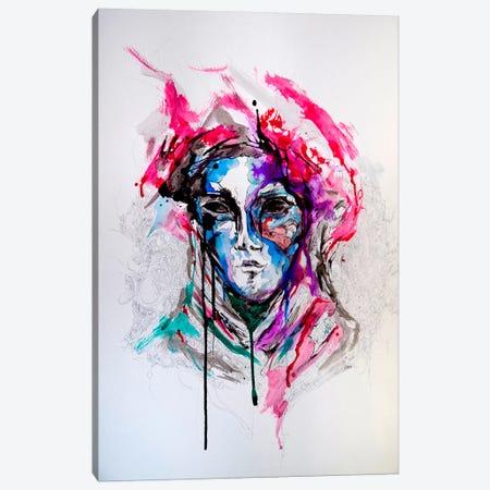 Masq Canvas Print #MAE11} by Marc Allante Canvas Art Print