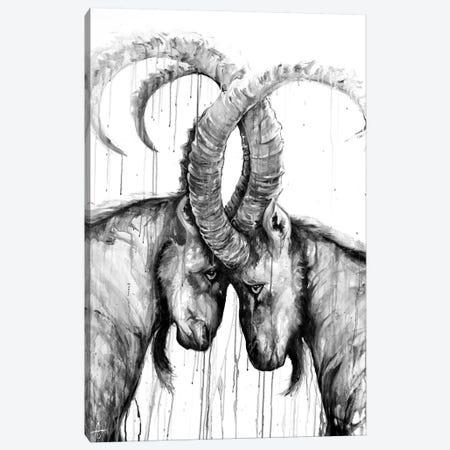 Sisyphus in Black & White Canvas Print #MAE121} by Marc Allante Canvas Wall Art
