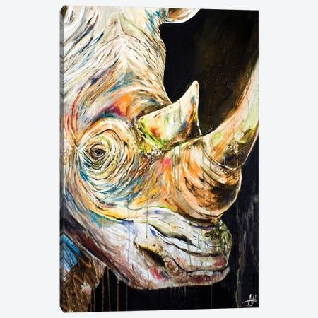 Unicorn Canvas Print #MAE124} by Marc Allante Art Print