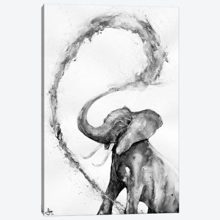 Veris in Black & White Canvas Print #MAE125} by Marc Allante Canvas Art Print