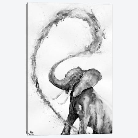 Veris in Black & White Canvas Print #MAE125} by Marc Allante Canvas Art Print