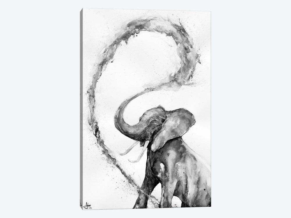Veris in Black & White by Marc Allante 1-piece Canvas Art
