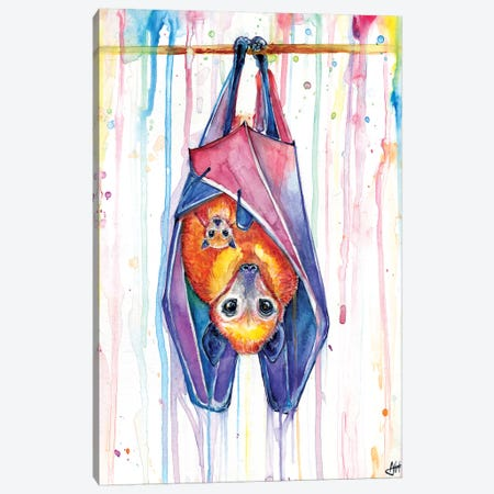Buncha Bats Canvas Print #MAE129} by Marc Allante Canvas Artwork