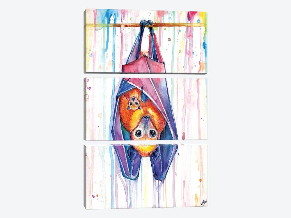 Buncha Bats by Marc Allante 3-piece Canvas Art