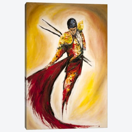 Matador Canvas Print #MAE12} by Marc Allante Art Print