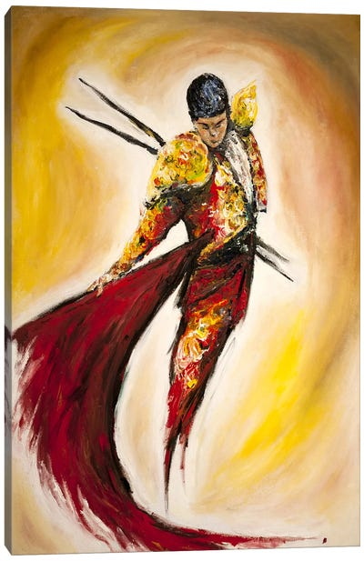 Matador Canvas Art Print
