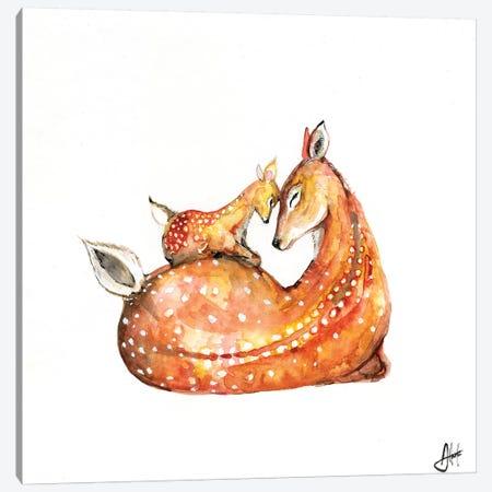Doh a Deer Canvas Print #MAE131} by Marc Allante Canvas Art Print