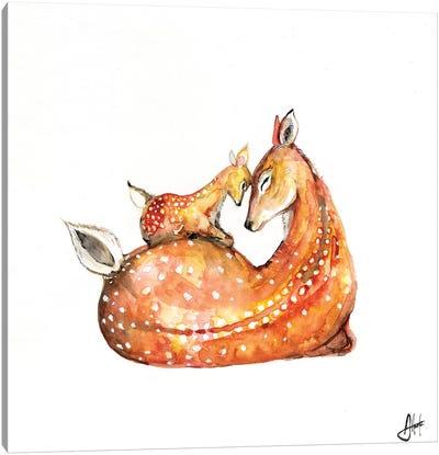 Doh a Deer Canvas Art Print