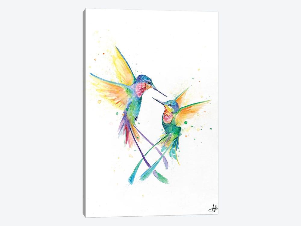 Happy Hummingbirds Canvas Print By Marc Allante Icanvas