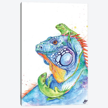 Here be Dragons Canvas Print #MAE138} by Marc Allante Art Print
