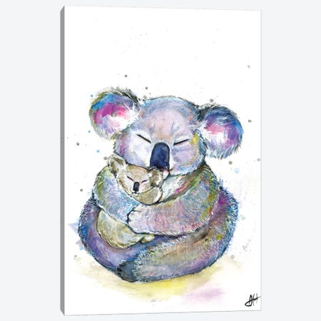 Kuddly Koalas Canvas Print #MAE139} by Marc Allante Art Print