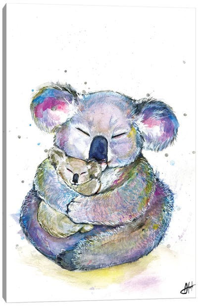 Kuddly Koalas Canvas Art Print