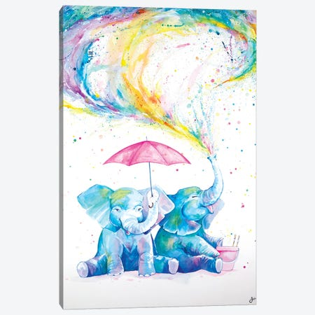 Mischief  Canvas Print #MAE141} by Marc Allante Canvas Wall Art