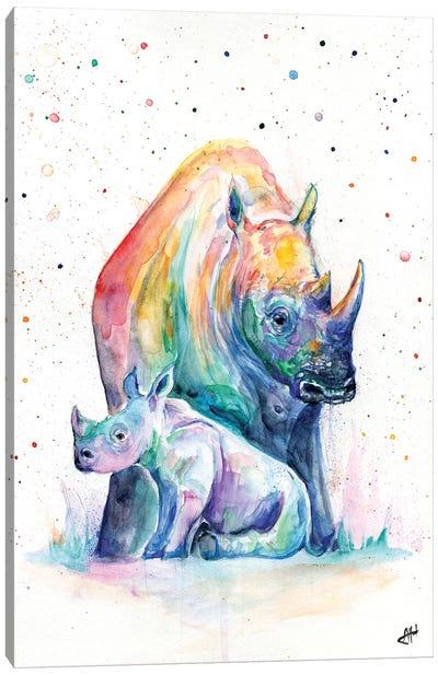 Shelter Canvas Art Print