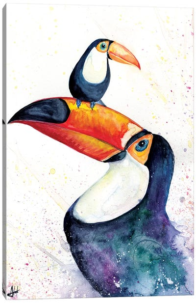 Toucan Play that Game Canvas Art Print