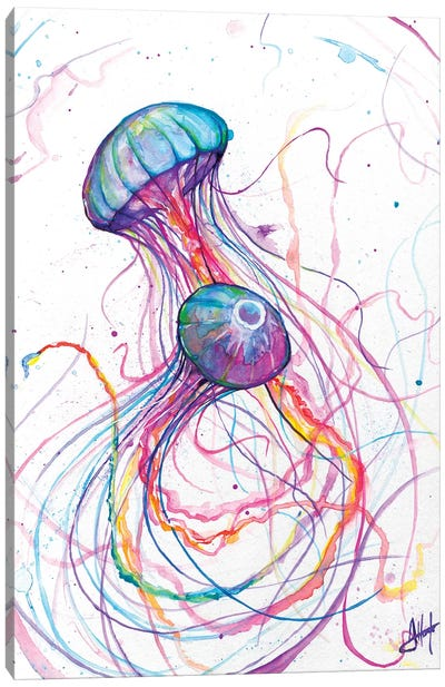 You So Jelly Canvas Art Print