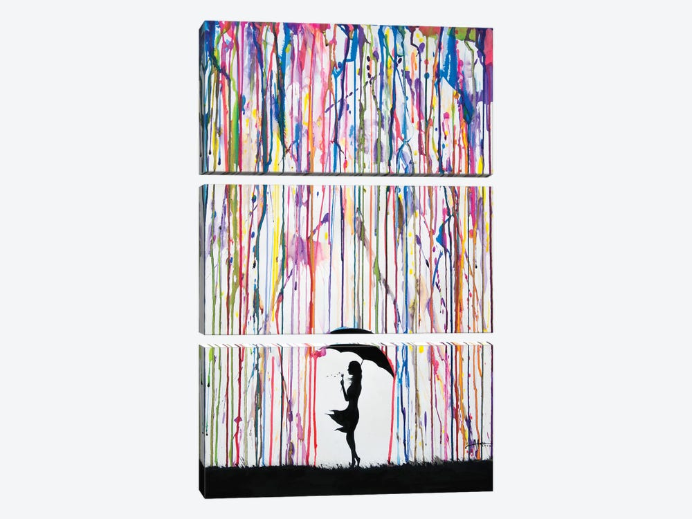 Persephone by Marc Allante 3-piece Canvas Artwork