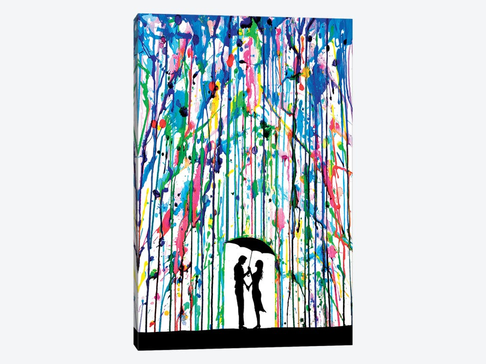 Pour Deux by Marc Allante 1-piece Canvas Art