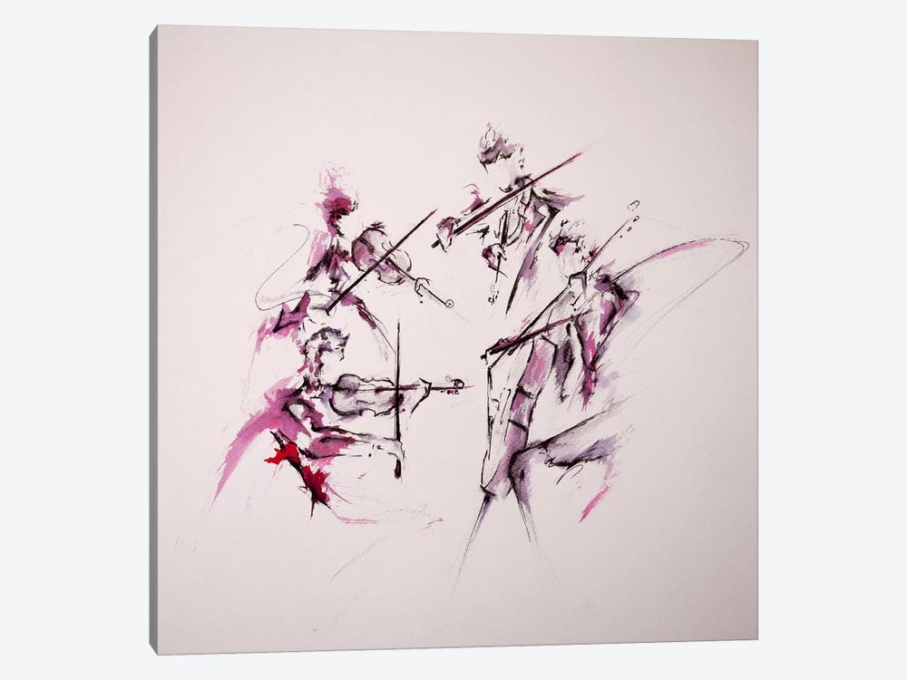 Quartet by Marc Allante 1-piece Canvas Art