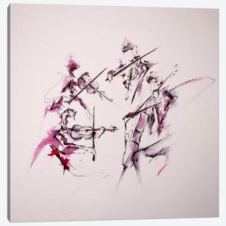 Quartet Canvas Print #MAE21} by Marc Allante Canvas Wall Art