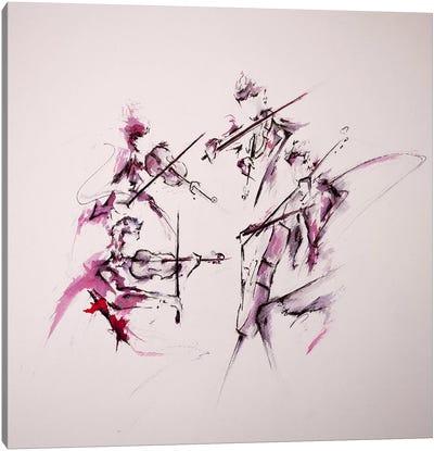 Quartet Canvas Art Print