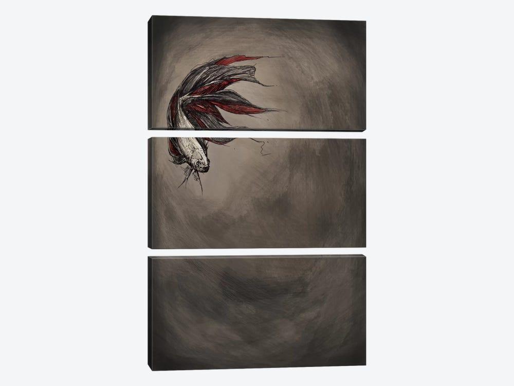 Samsara by Marc Allante 3-piece Canvas Art Print