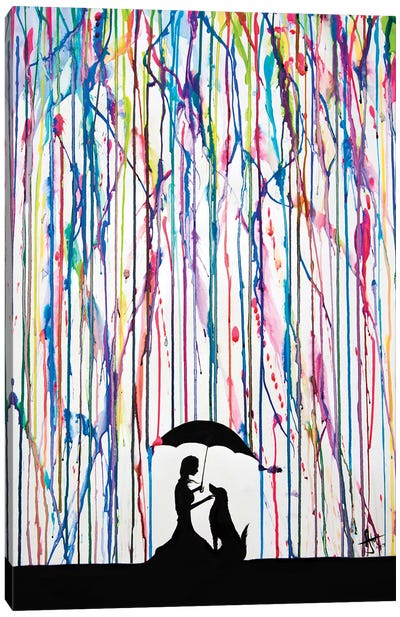 Sempre Canvas Print #MAE26
