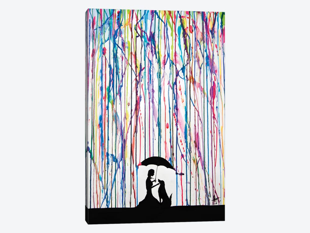 Sempre by Marc Allante 1-piece Canvas Art Print