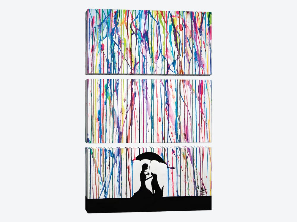 Sempre by Marc Allante 3-piece Canvas Art Print