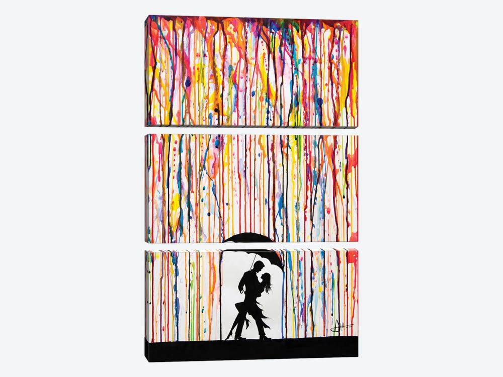 Tempest by Marc Allante 3-piece Canvas Art