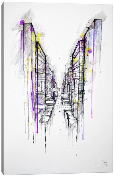 This City Sleeps Canvas Print #MAE29