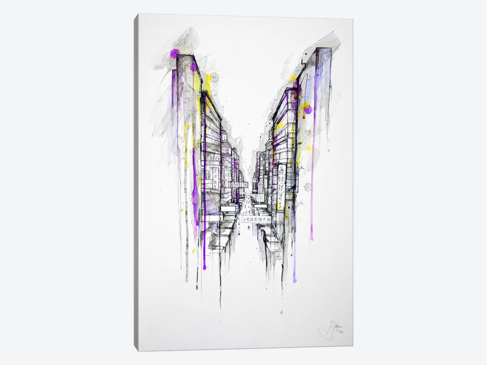 This City Sleeps by Marc Allante 1-piece Canvas Art