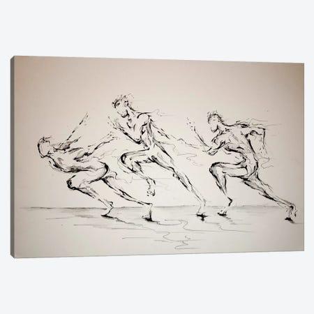 Three Blind Mice Canvas Print #MAE31} by Marc Allante Art Print