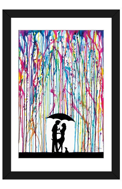 Two Step Framed Art Print