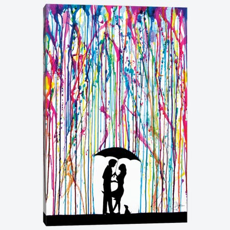 Two Step Canvas Print #MAE32} by Marc Allante Canvas Art Print