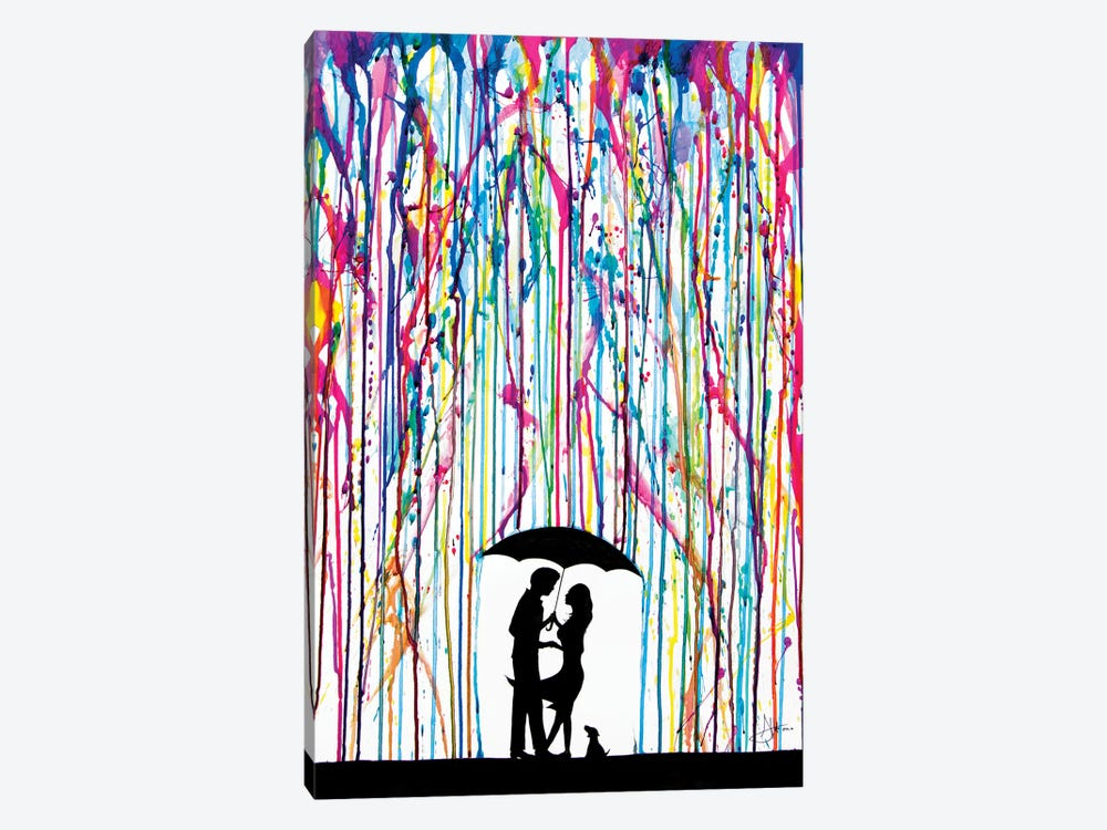 Two Step by Marc Allante 1-piece Canvas Artwork