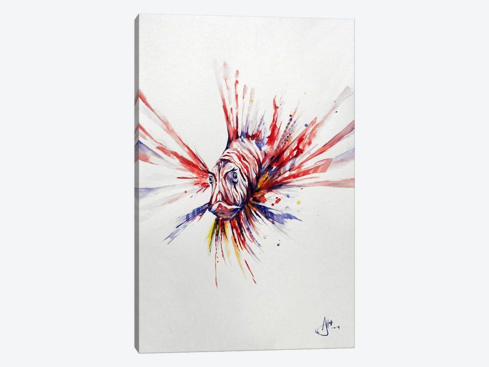 Pterois by Marc Allante 1-piece Canvas Artwork