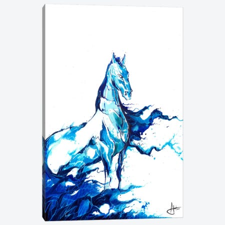 Poseidon Canvas Print #MAE41} by Marc Allante Canvas Artwork