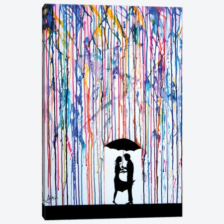Touche Canvas Print #MAE43} by Marc Allante Canvas Art