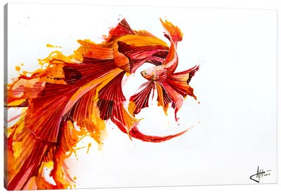 Ignite Canvas Art Print
