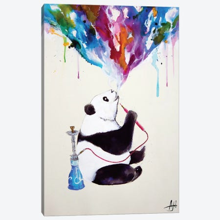 Chai Canvas Print #MAE49} by Marc Allante Canvas Wall Art