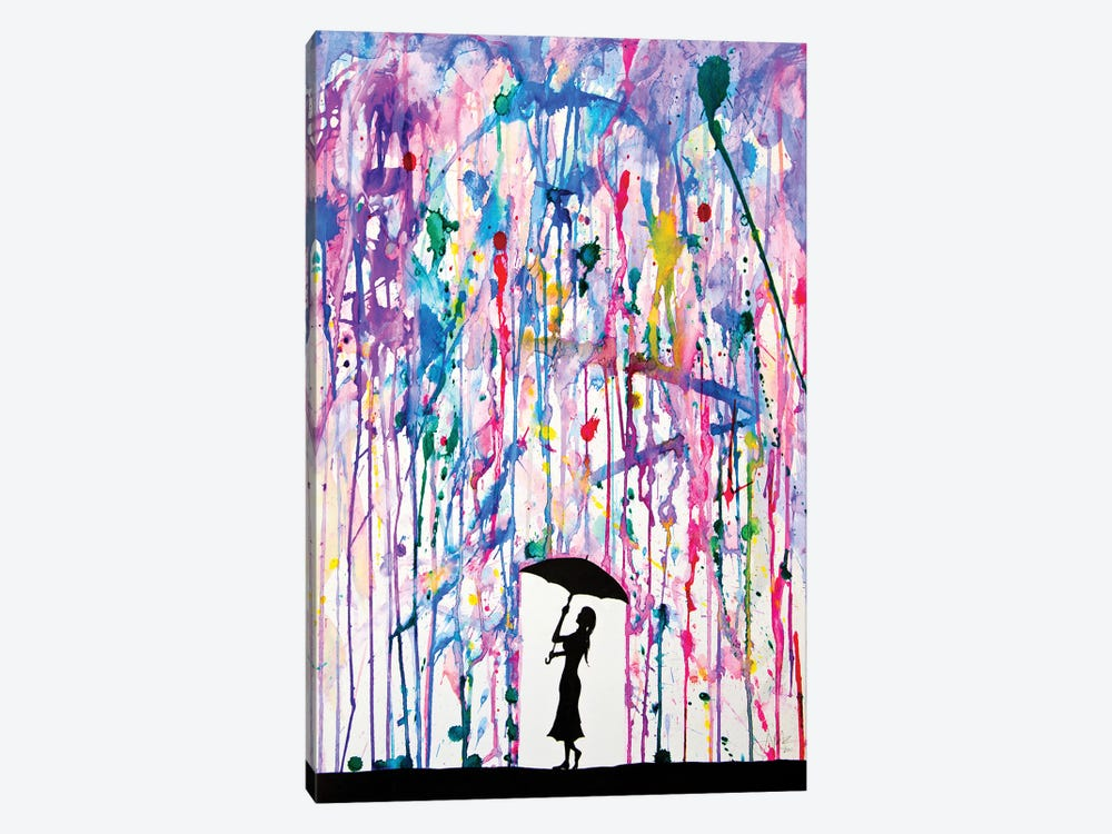 Deluge by Marc Allante 1-piece Canvas Artwork