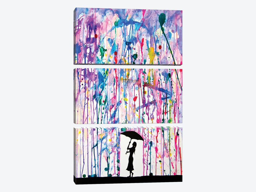 Deluge by Marc Allante 3-piece Canvas Art