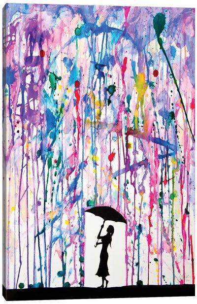 Deluge Canvas Art Print